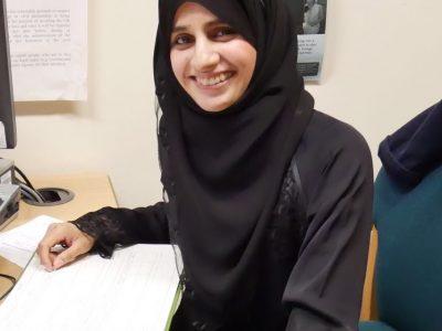 Facilitator Sabina Patel